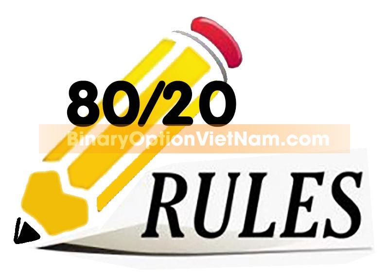 Quy Tắc 80/20 Cho Giao Dịch Và Quản Lý Tài Khoản IQ Option Bạn Cần Biết